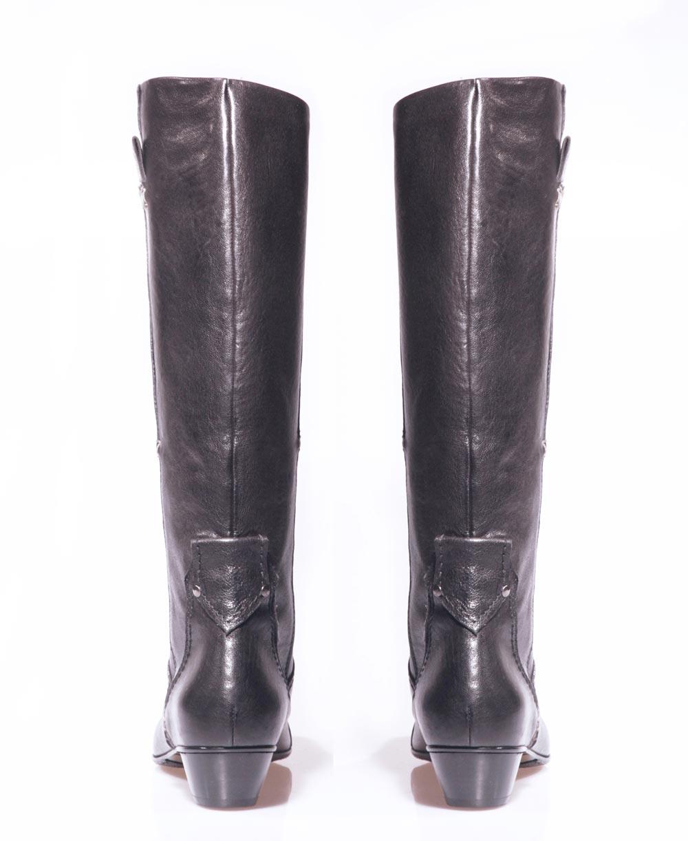 Tentazione stivali donna pelle boots shoes
