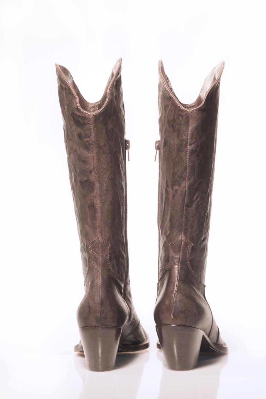 Enzo Pascucci stivali texani pelle boots