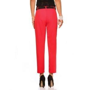 Miss Miss, pant red, pantaloni rossi, fiocco, flake