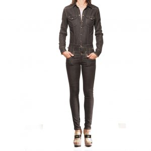 tuta, denim, Liu Jo, women, suit