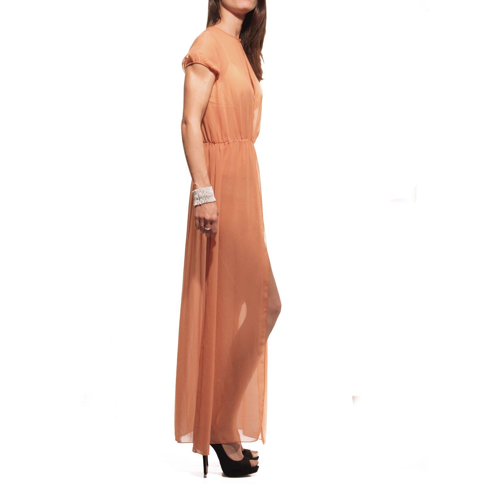 Think & Believe, abito, vestito, clothes, lungo, long, spacco