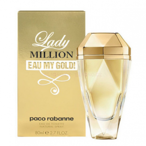 Profumo da Donna Paco Rabanne Lady Million Eau My Gold Eau de Toilette confezione da 80ML