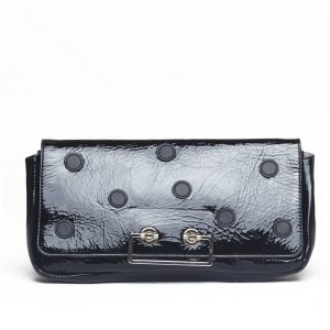 coccinelle borsa a mano pochette nero