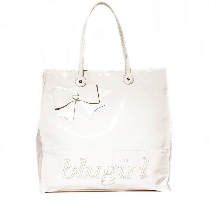 Blugirl by Blumarine borsa a mano colore panna
