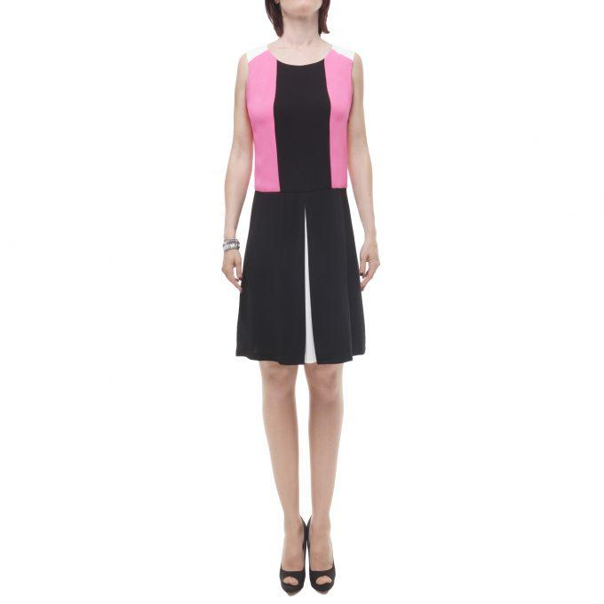 Beatrice B abito donna corto multicolore